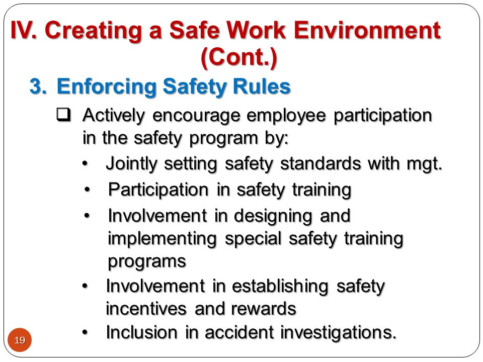 creating a safe and healthy environment Home » resource centre » hr toolkit » diversity at work » creating an inclusive and supportive work environment  diversity at work creating an inclusive and supportive work environment  the provincial health services authority in bc developed the indigenous cultural competency training program,.