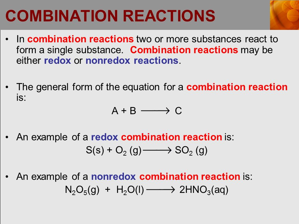 Chapter 5: Chemical Reactions - ppt video online download