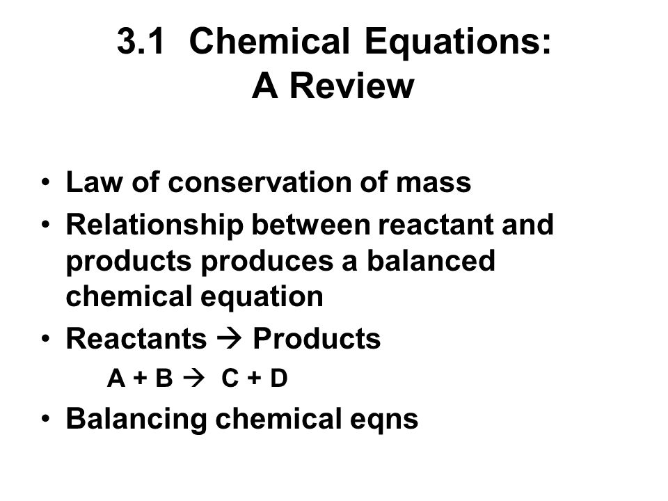 relationship between coefficients and subscripts in chemical equations