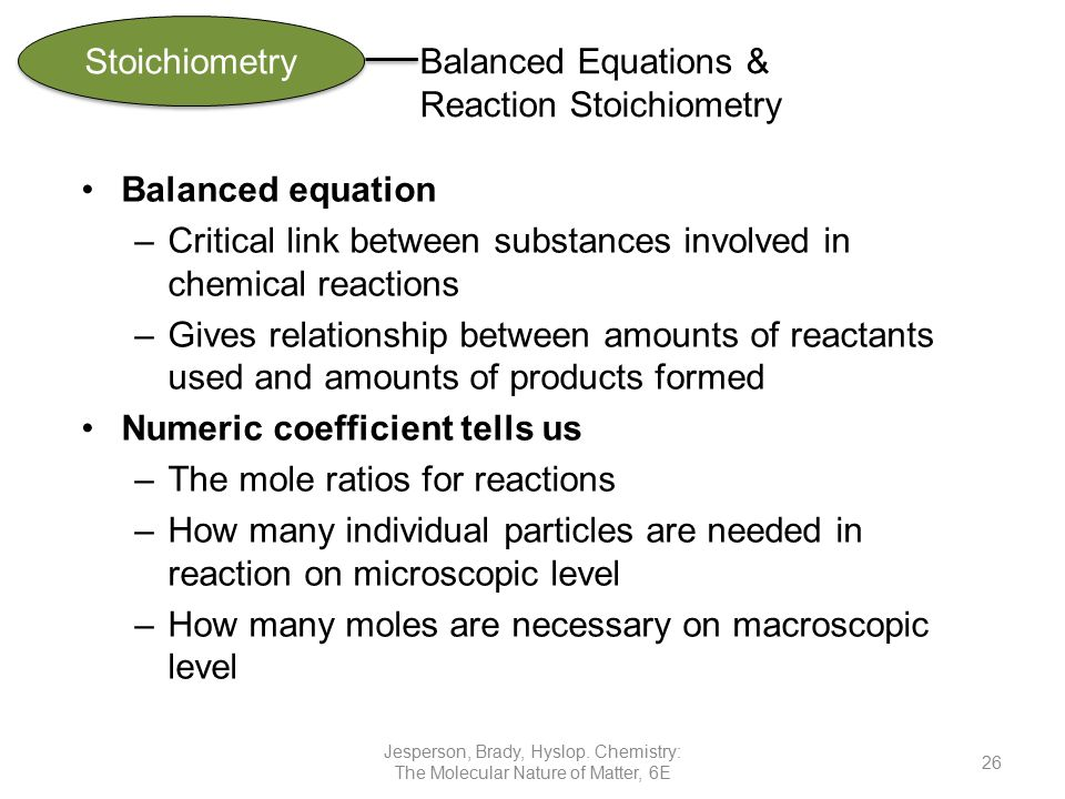 relationship between reactants and products in chemical reactions