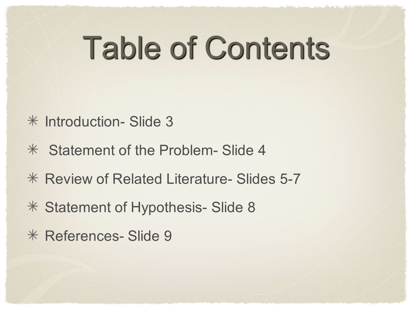 introduction and statement of the problem Problem statements the simplest way to approach problem statements is to start by looking at where they fit into your document your problem statement will make up the core of the introduction to your essay the introduction should set the stage for your readers and give them a clear idea of your argument.