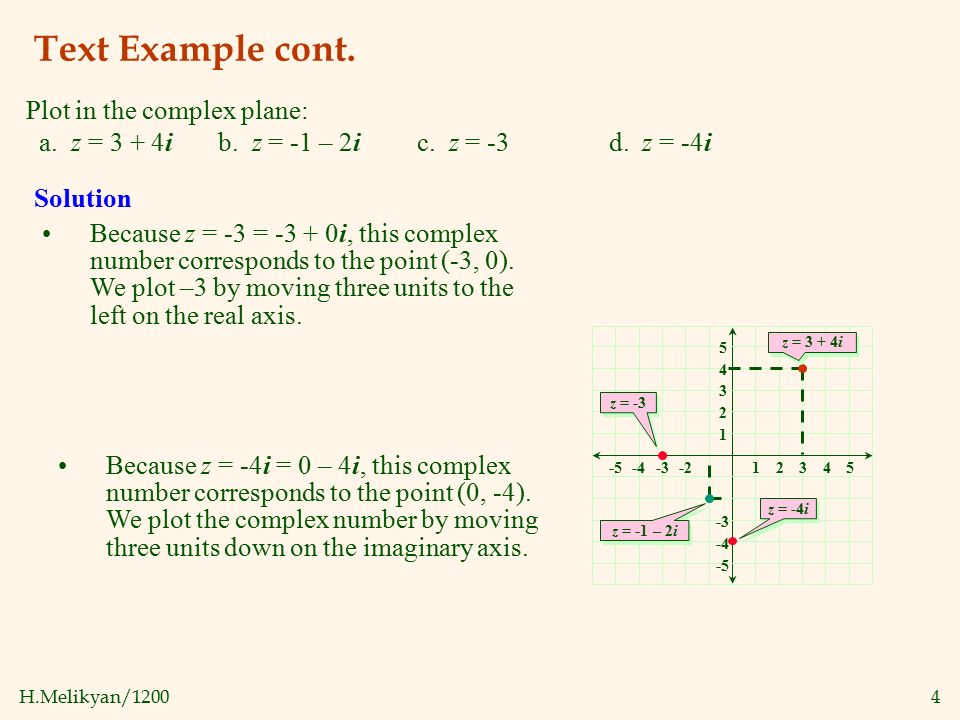 polar form of complex numbers examples pdf