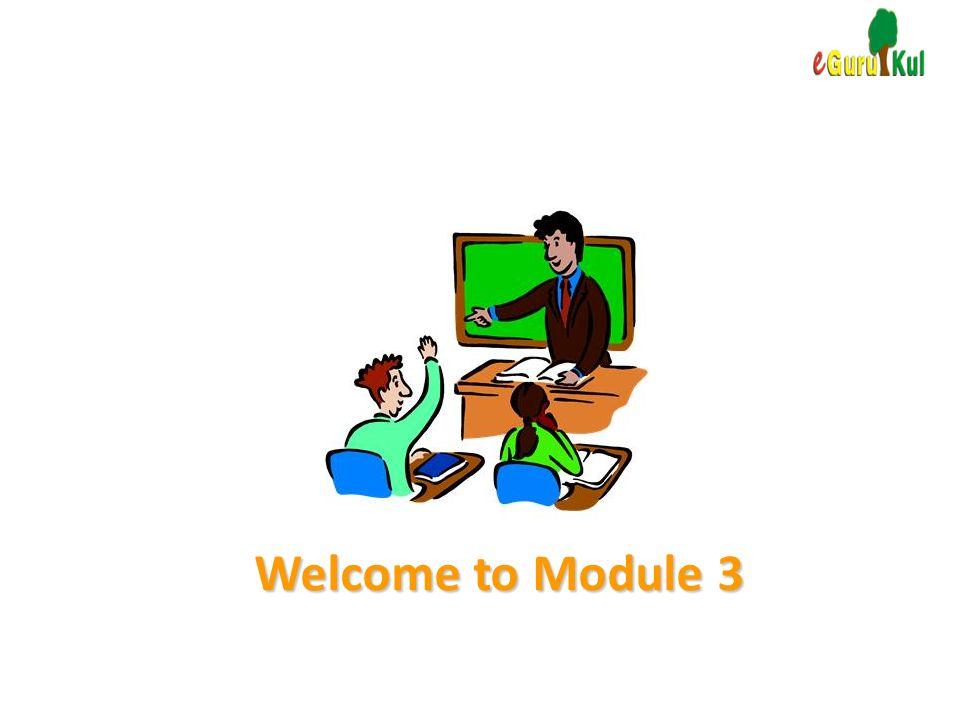 Welcome to Module 3