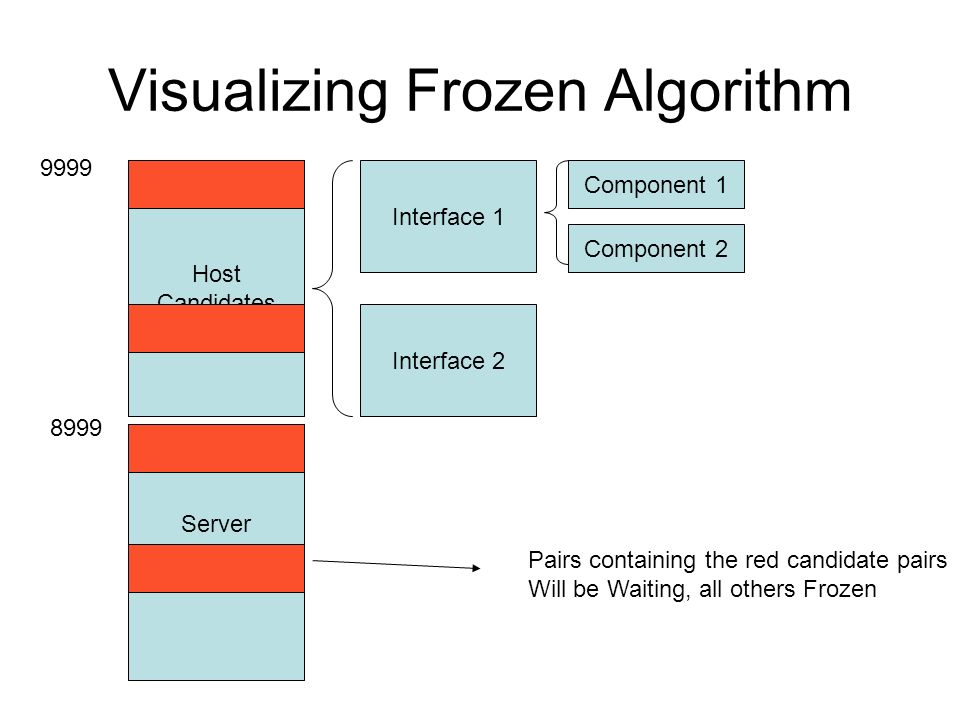 Visualizing Frozen Algorithm