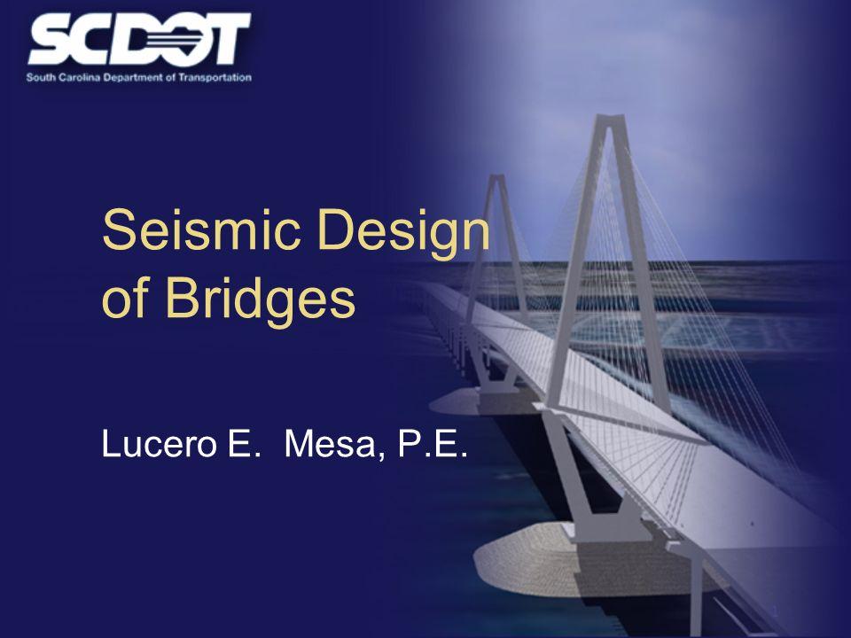 Seismic Design of Bridges