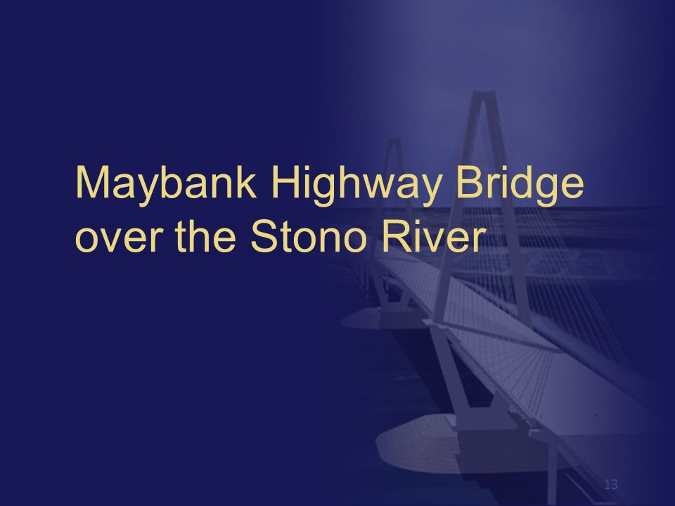 Maybank Highway Bridge over the Stono River