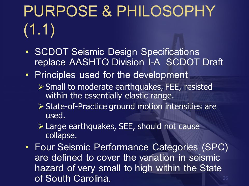 PURPOSE & PHILOSOPHY (1.1)