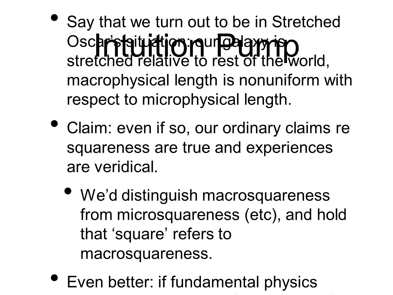 Intuition Pump