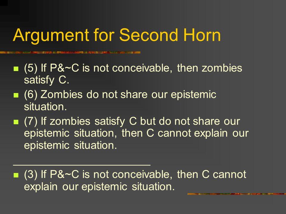 Argument for Second Horn