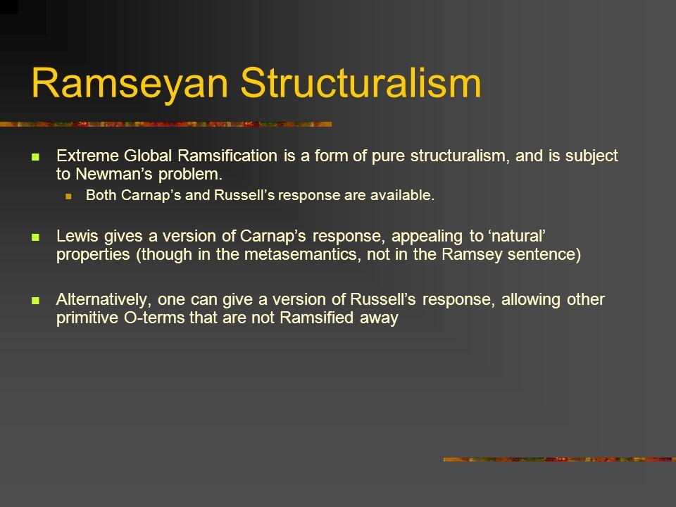 Ramseyan Structuralism
