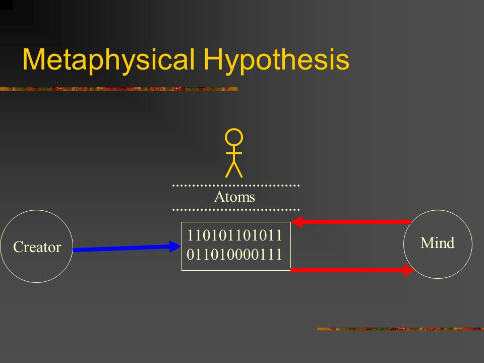 Metaphysical Hypothesis