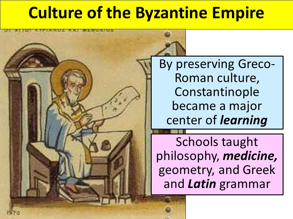 Byzantine and the Impact of Islam