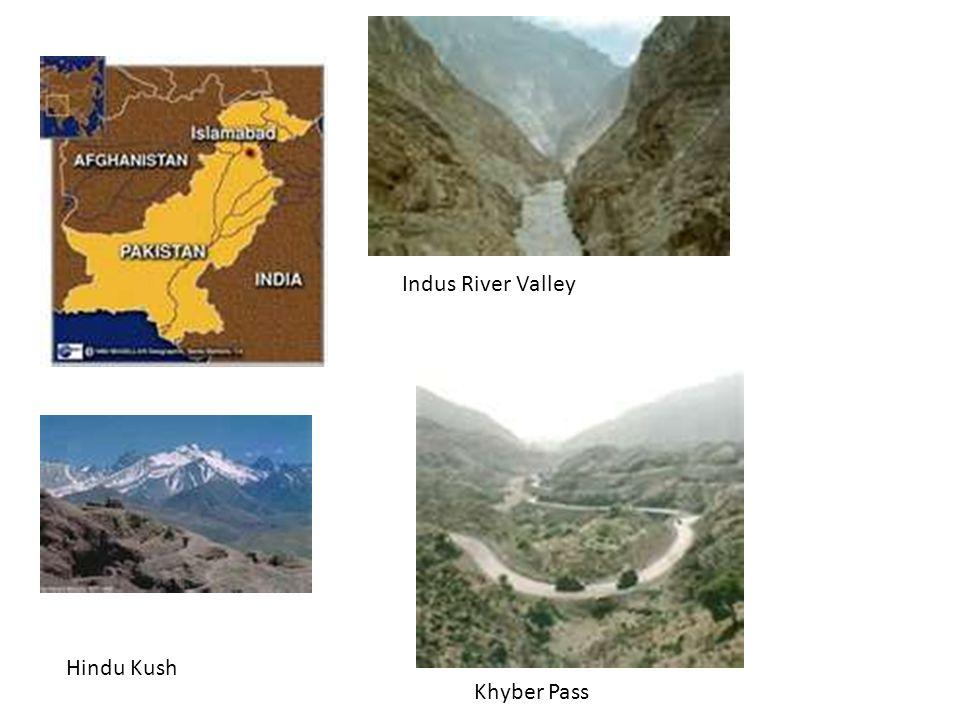 Indus River Valley Hindu Kush Khyber Pass