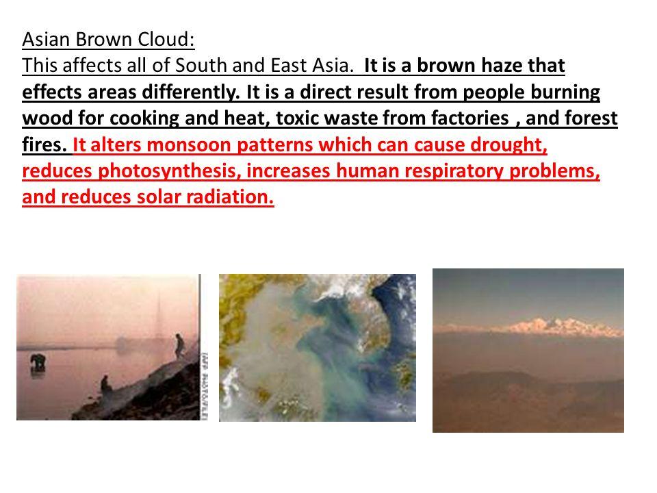 Asian Brown Cloud: