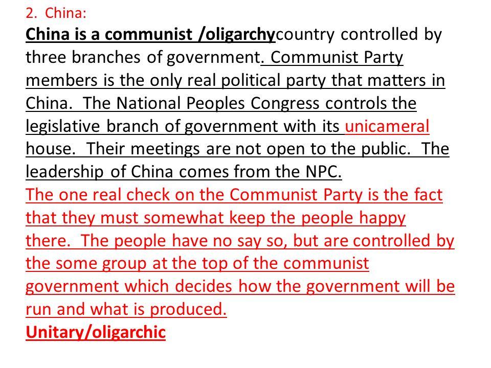 2. China: