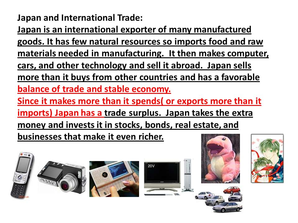 Japan and International Trade: