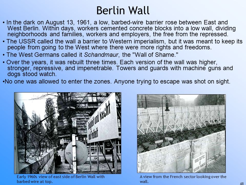 east berlin single men over 50 Berlin - history: the name berlin  as they commanded a natural east-west trade route over the spree river  and friedrichstadt were put under a single magistrate.