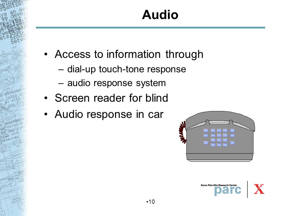 Audio Access to information through Screen reader for blind