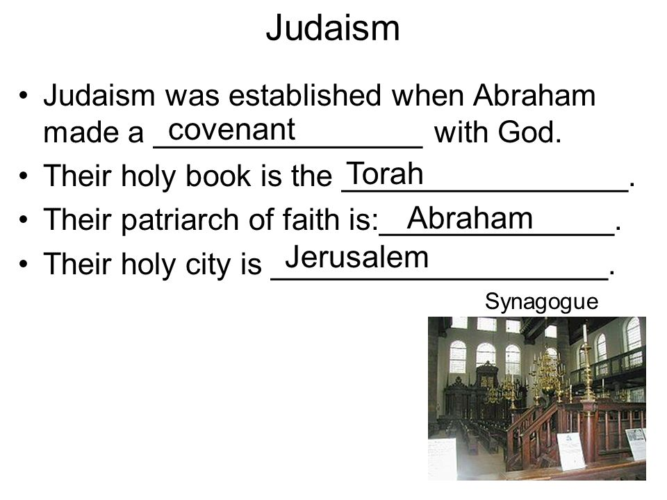 Judaism covenant Torah Abraham Jerusalem
