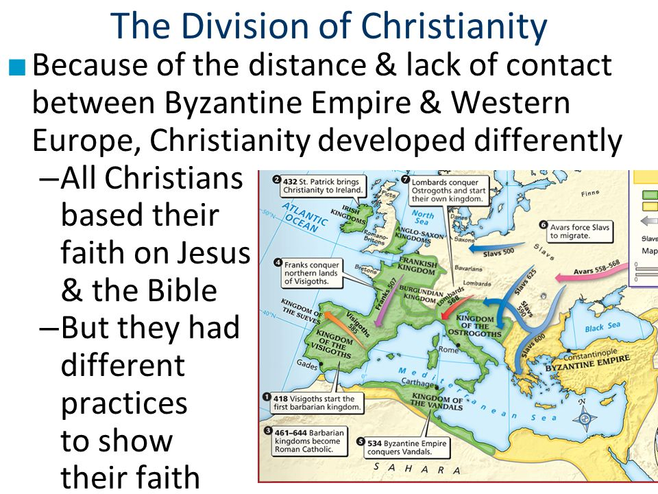 an overview of the different divisions of christianity I introduction: jesus and history  at the very heart of christianity lies the life of  jesus christ, which from nearly  worse still, this mercy imported the potential  for setting other sects off which might decide to petition for the same sort of  licence.