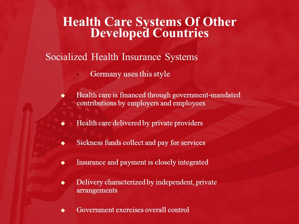 Chapter 1 Major Characteristics Of U S Health Care