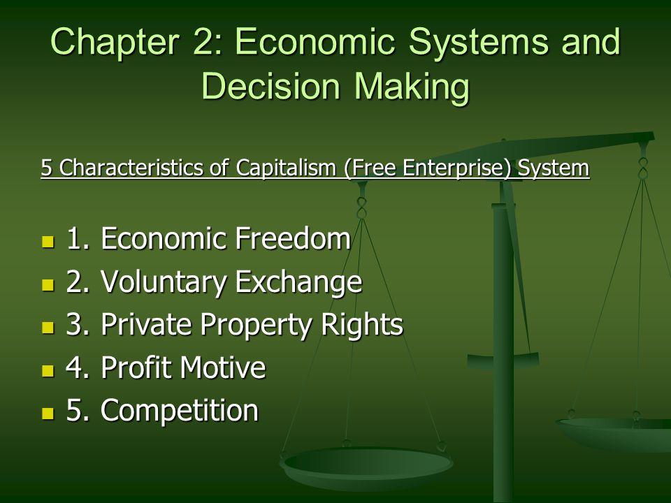 characteristics of economic system pdf