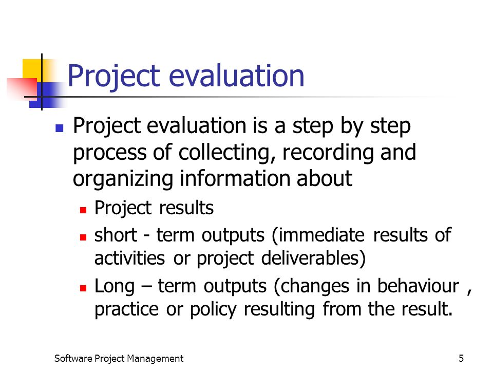 Project Evaluation Unit  Software Project Management  Ppt Download