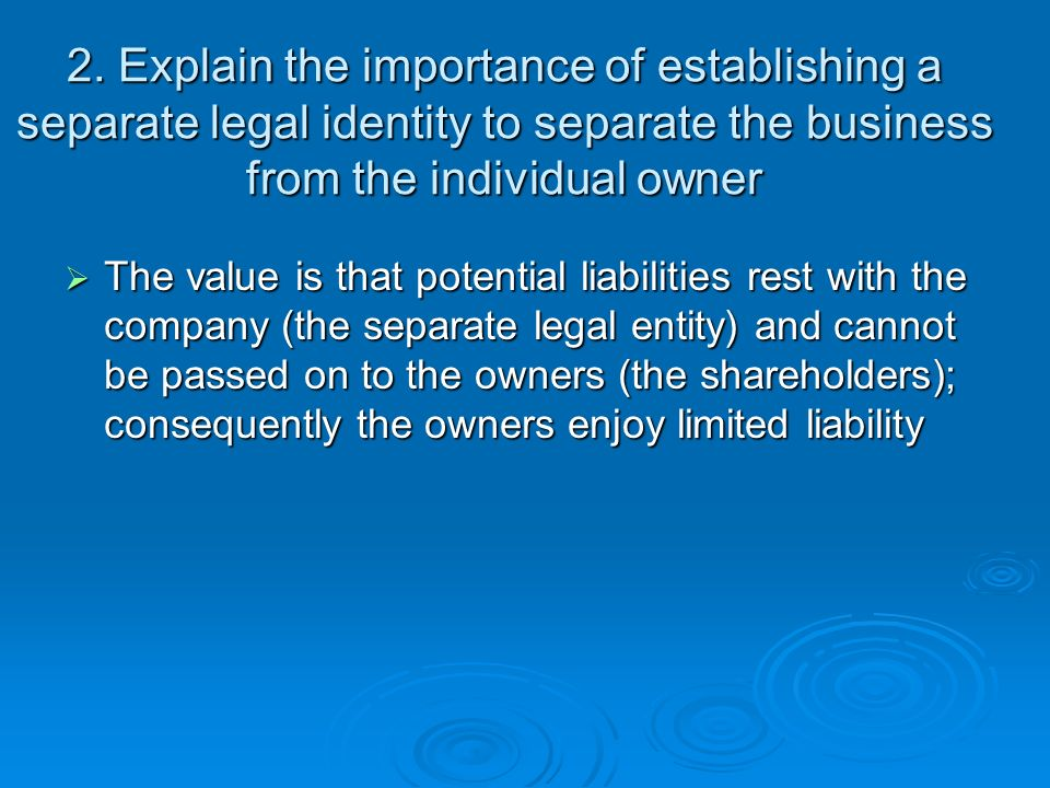 business entities and liabilities repaired The chart of accounts for a business includes balance sheet accounts that track liabilities and owners' equity liabilities include what your business owes to others, such as vendors and financial institutions.
