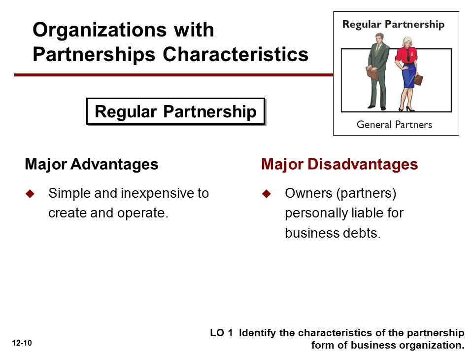 Organizations with Partnerships Characteristics