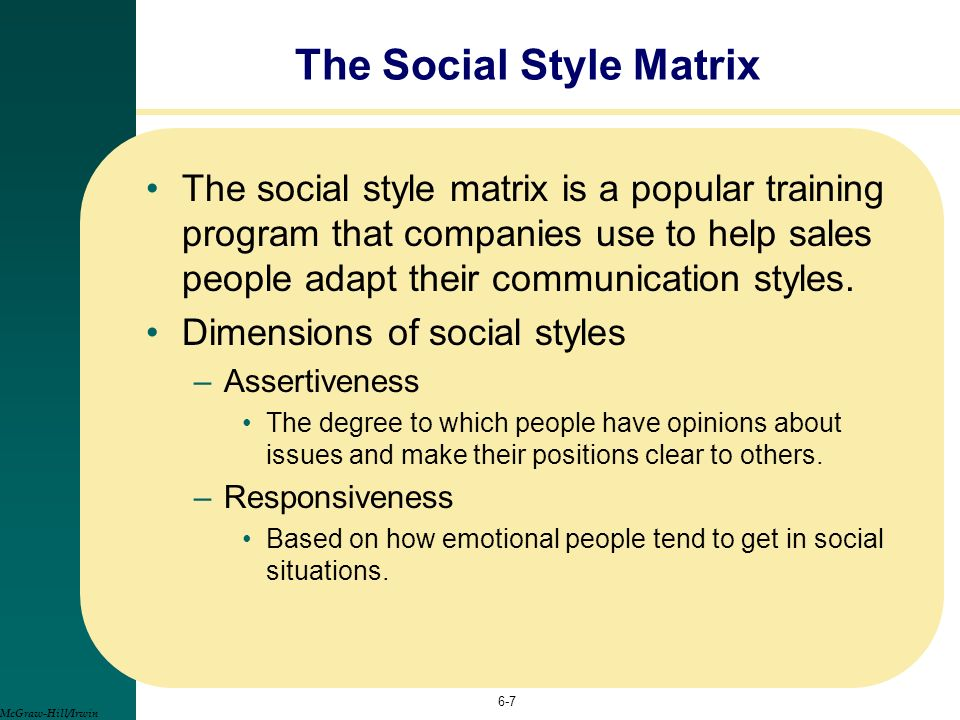 Social Matrix Style Related Keywords & Suggestions - Social