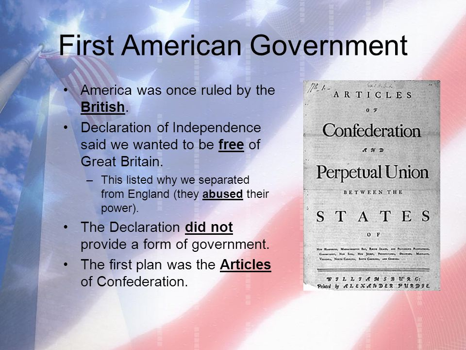 America's Political Heritage - ppt video online download