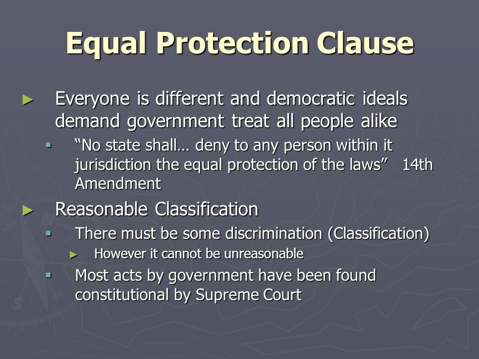 Felons: Democracy and Equal Protection Clause