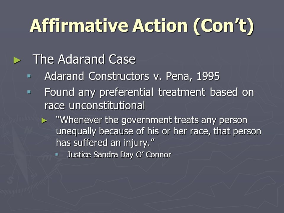 affirmative action cons essay