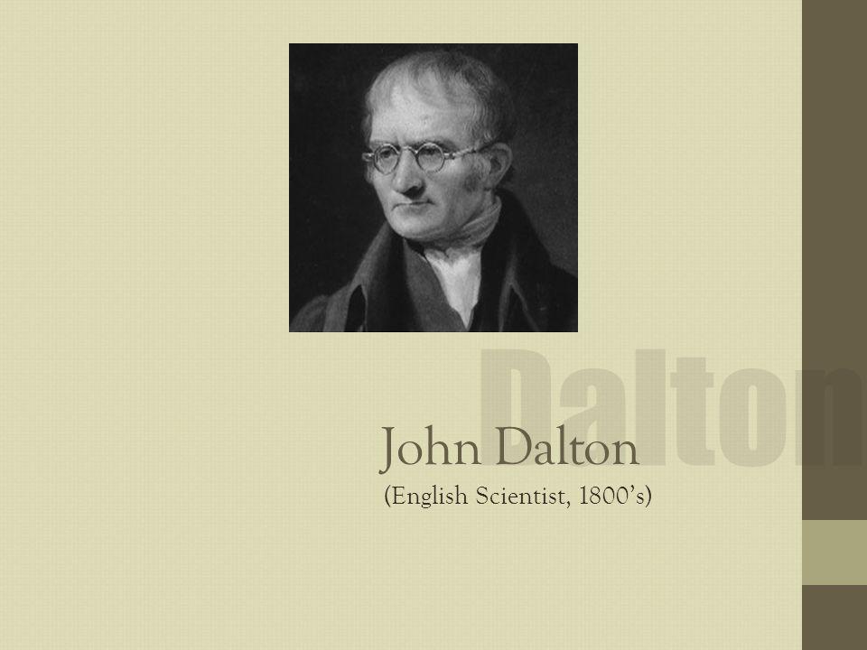 john dalton famous quotes