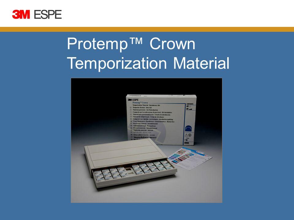 Protemp Crown Temporization Material Scientific
