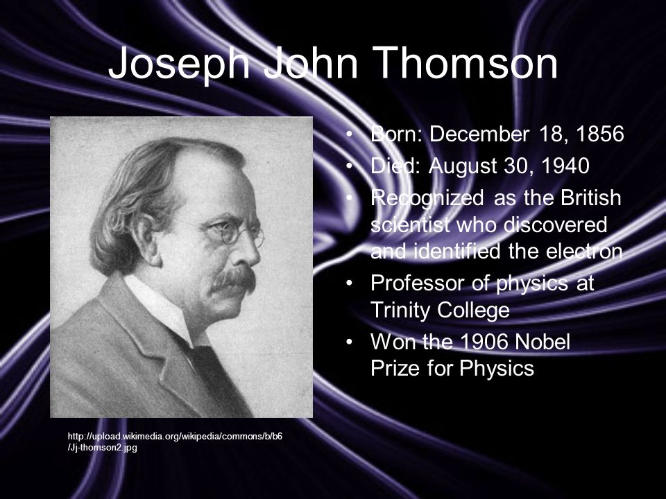 the contributions and works of j j thomson To understand the development of modern ideas about the inner workings of atoms and the contributions of jj thomson this lesson is the fourth of a five-part series that will broaden and enhance students' understanding of the atom and the history of its discovery and development from ancient to.