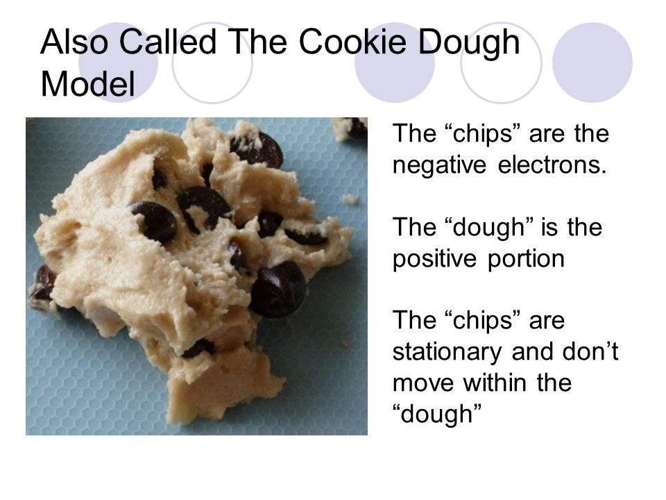 Also Called The Cookie Dough Model