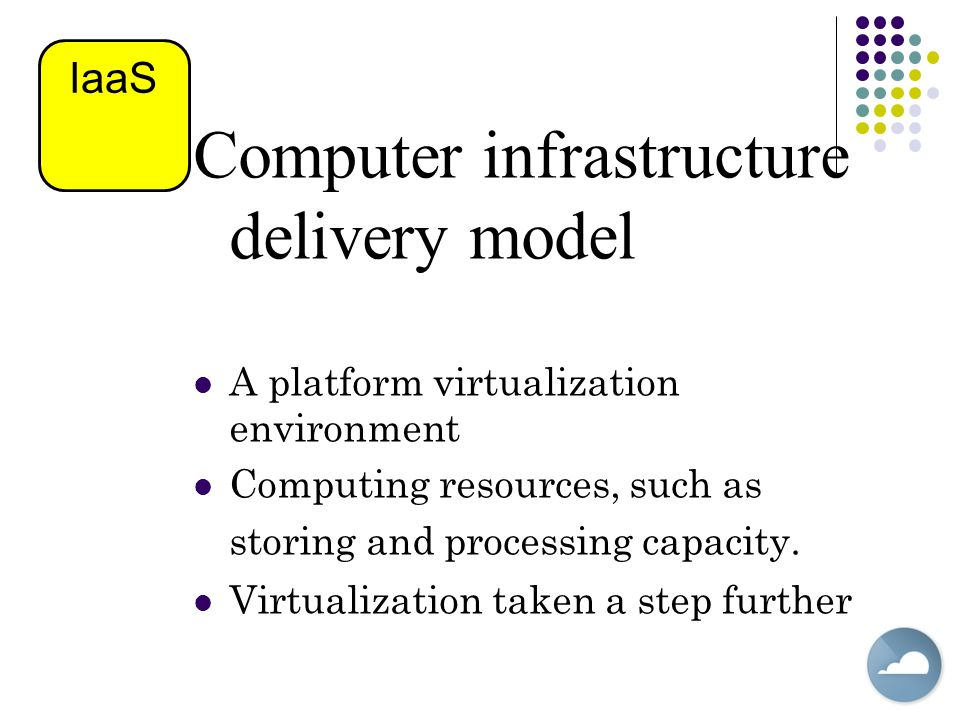 Computer infrastructure delivery model