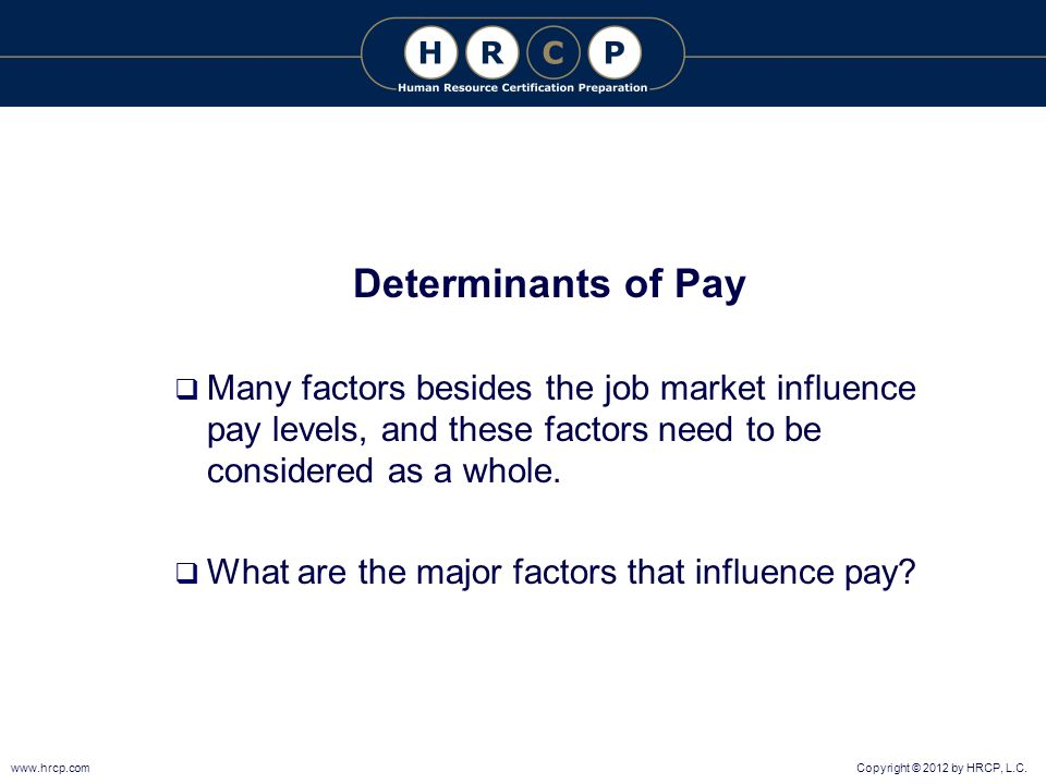 factors that influence compensation and benefits Compensation and benefits may be important factors in the how does compensation affect employee retention how does compensation affect employee.