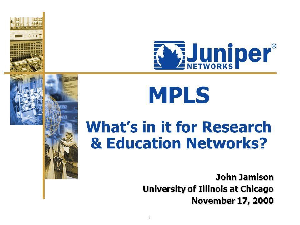 John Jamison University of Illinois at Chicago November 17, 2000