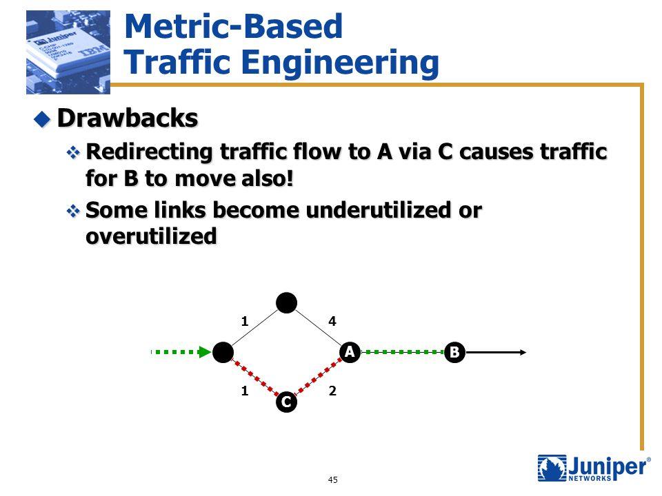 Metric-Based Traffic Engineering