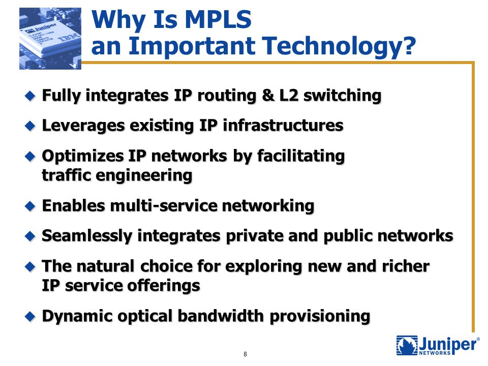 Why Is MPLS an Important Technology
