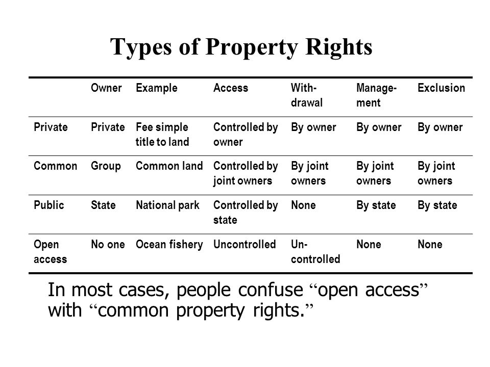 Private Property Rights In China