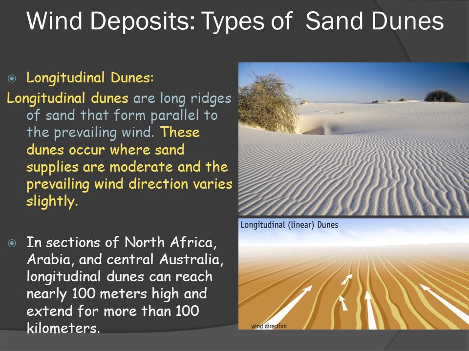 Earth Science 7.3 Landscapes Shaped by Wind - ppt video ...