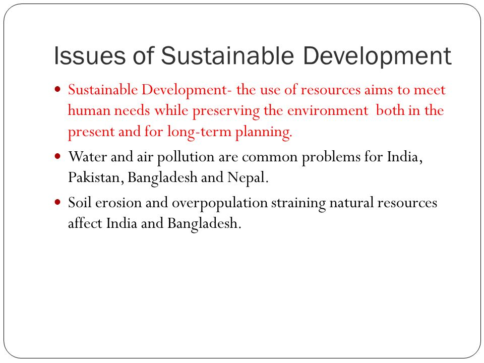 development issues in india pdf