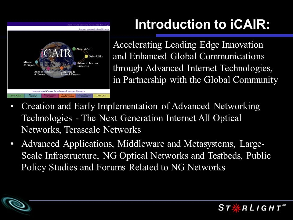Introduction to iCAIR:
