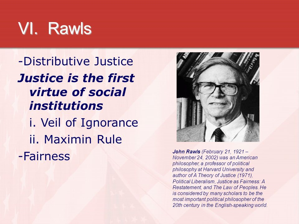 a review of john rawls justice as fairness Buy justice as fairness: a restatement 2nd revised edition by john rawls (isbn: 9780674005112) from amazon's book store everyday low prices and free delivery on.