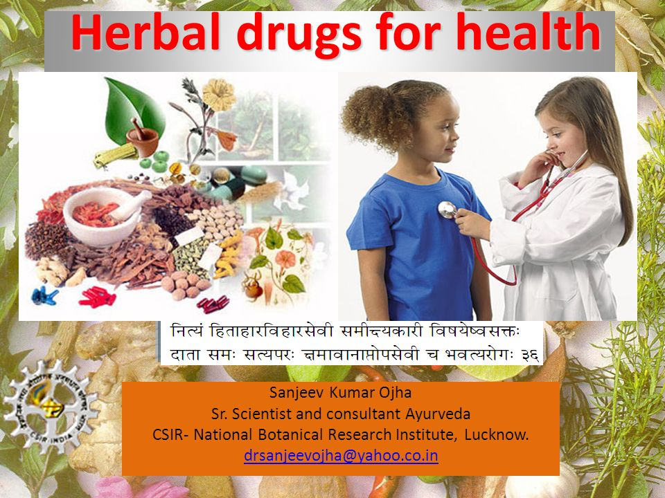 Herbal drugs for health
