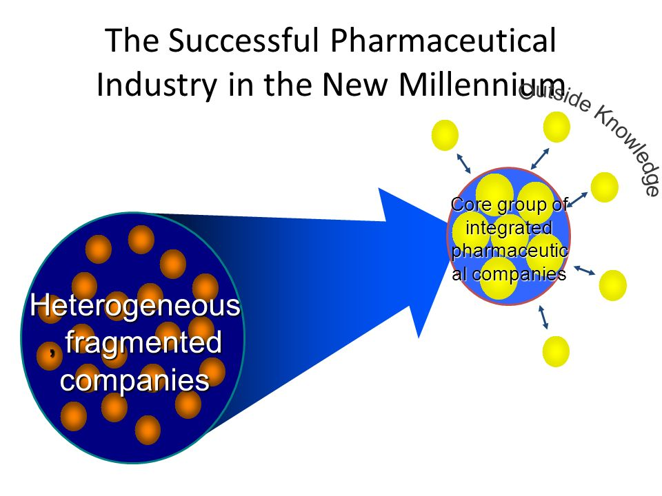 The Successful Pharmaceutical Industry in the New Millennium