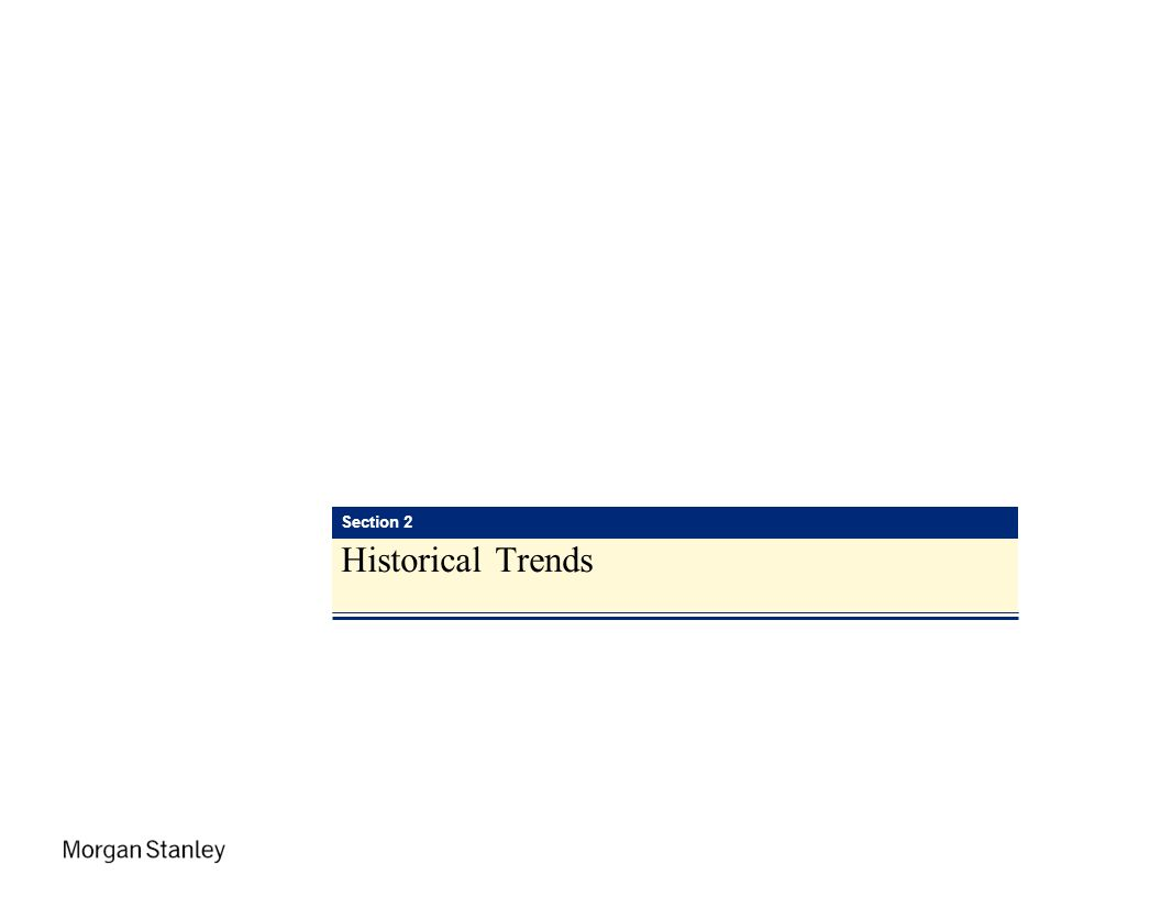 Section 2 Historical Trends
